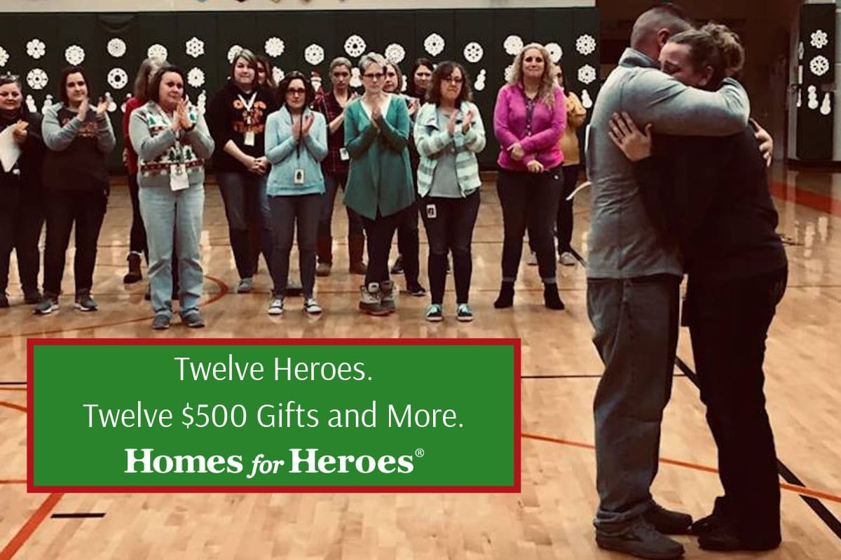 Celebrating Twelve Days of Christmas Miracles Homes for Heroes 2018
