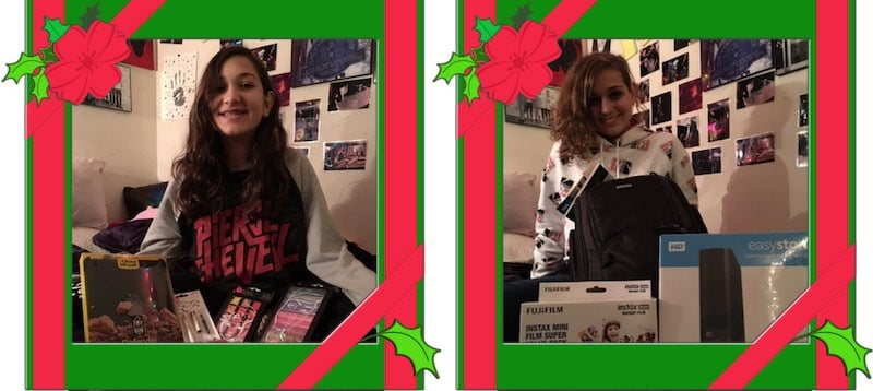 Joe Lopez Children Homes for Heroes Twelve Days of Christmas Gifts