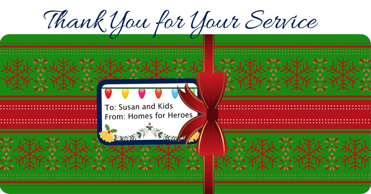 Twelve Days of Christmas 2018 Homes for Heroes $500 Gift Helps Sixteen Foster Kids