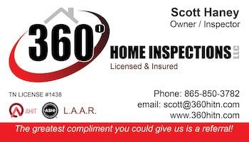 360 Home Inspections LLC Logo