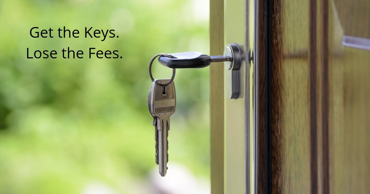 House Keys Home Closing Costs Get the Keys Lose the Fees