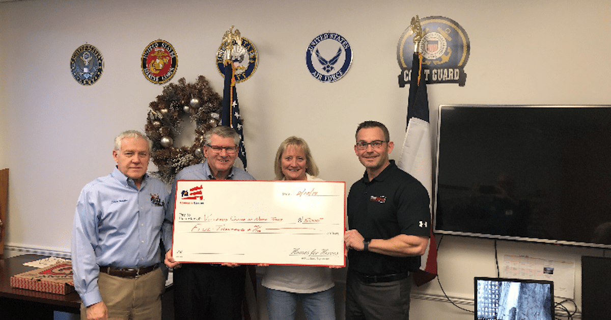 Veterans Center of North Texas 5000 Homes for Heroes Foundation Grant