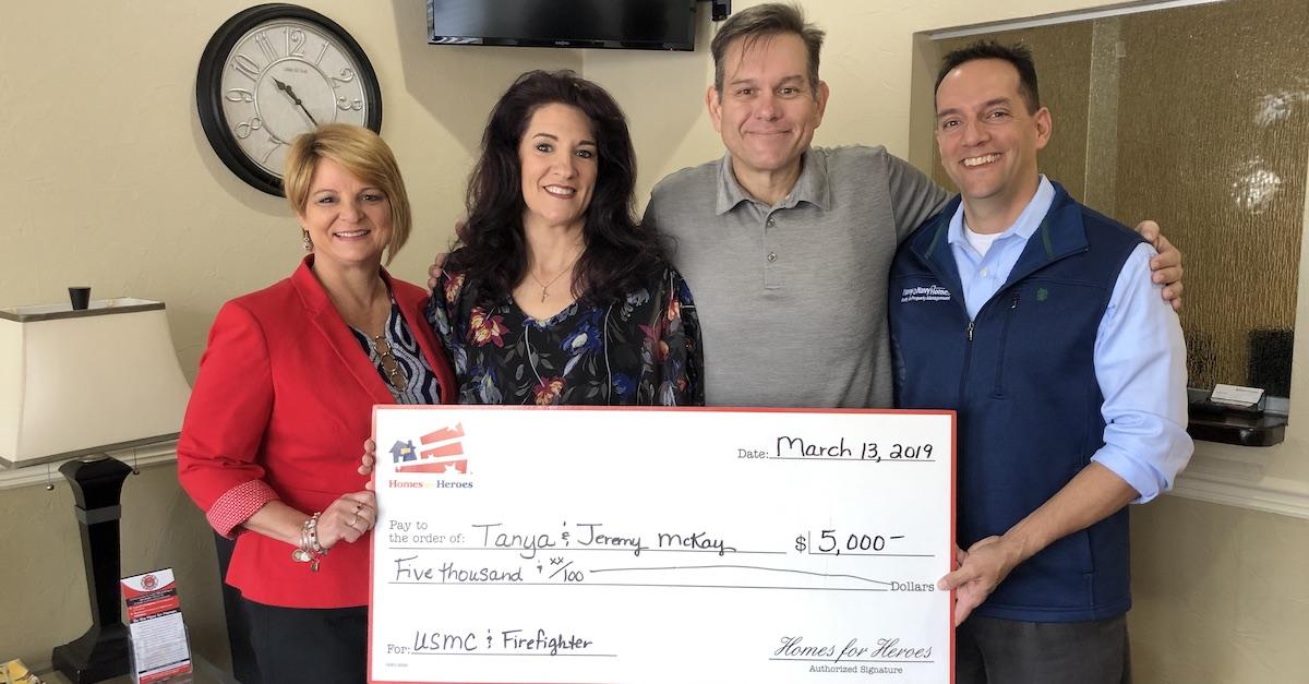 VAREP Jacksonville Presents McKay Family 5000 Foundation Grant