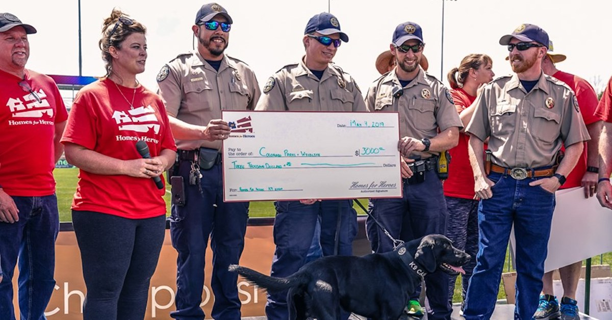 3000 Donation Colorado Parks and Wildlife New K9 units