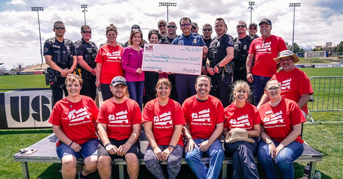 CSPPA Fallen Officer Relief Fund 5000 Homes for Heroes Foundation Grant Cem Duzel 5.4.2019