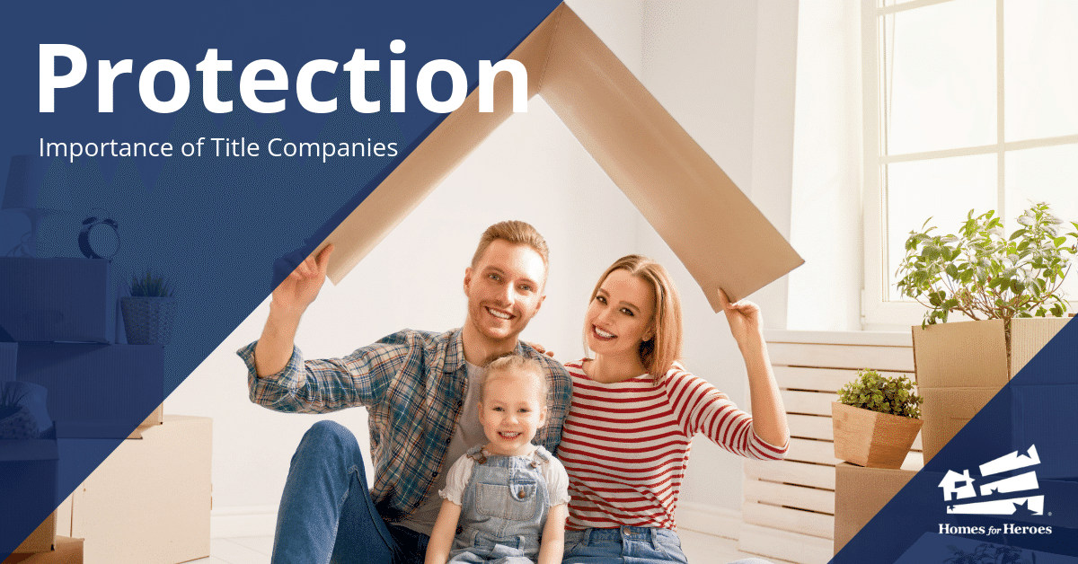 Protection What Does a Title Company Do Family Holding Cardboard Roof