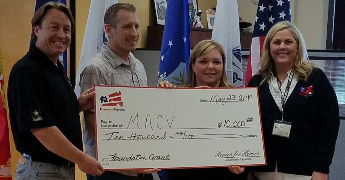 10000 Homes for Heroes Foundation Grant MN Assistance Council for Veterans NCHV 2019 Military Appreciation Month