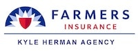 Kyle Herman Agency Farmers Insurance Logo