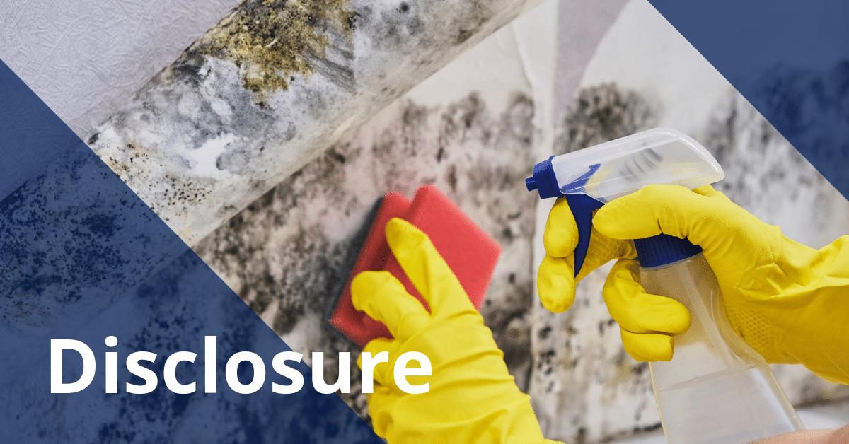 Seller's Disclosure Form Moldy Walls