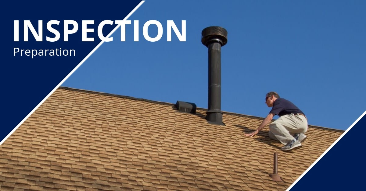 How to Prepare for a Home Inspection Inspector on Roof Homes for Heroes