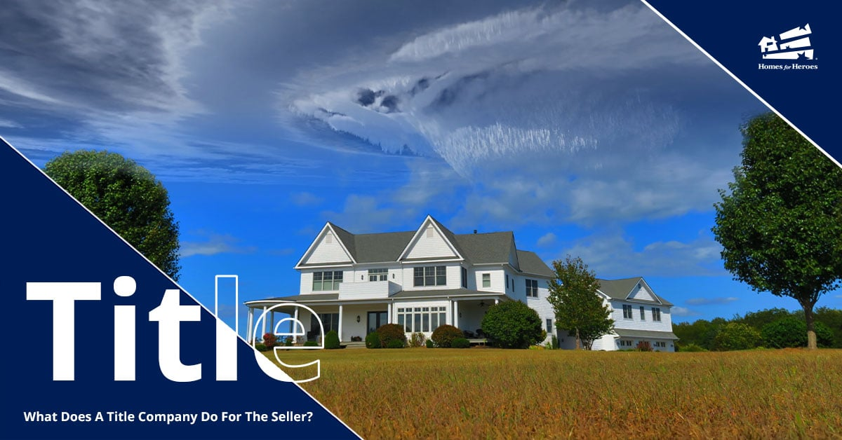 A large white farm house sits surrounded by tall grass, blue skies, and a few clouds