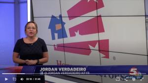 KFYR reporter Jordan Verdadeiro on Homes for Heroes Giving Back to Local Heroes