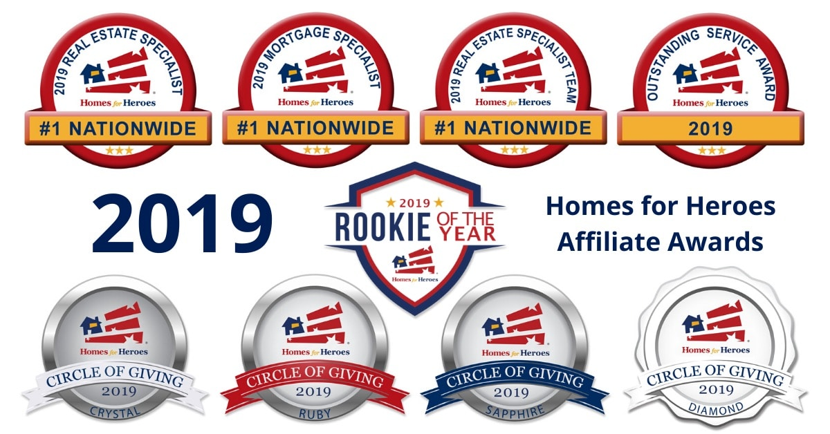 2019 Homes for Heroes Affiliate Awards