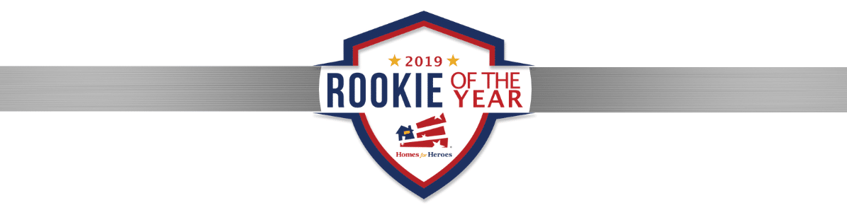 2019 Homes for Heroes Affiliate Rookie of the Year Award