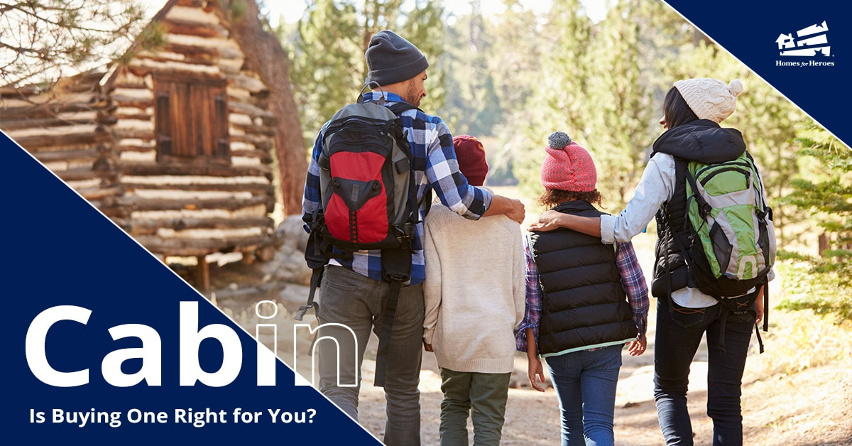 Buying a Cabin Family Hiking Homes for Heroes