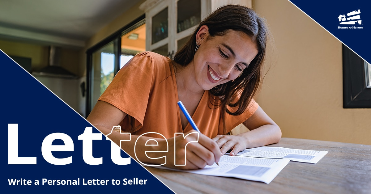 Write a letter to buy a house home buyer writes personal letter to home seller to make good impression Homes for Heroes