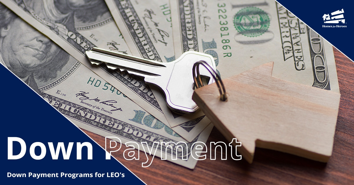 US 100 dollar bills fanned out on a table with a house key and keychain in the shape of a house on top